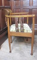 Pair of Edwardian Tub Chairs (5 of 5)