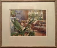 """Interior At No 31"" Watercolour by Anne Williams RWS"
