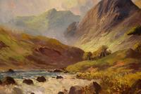 Oil Painting by Francis E. Jamieson - Brora Falls, Sutherland (3 of 5)