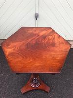 Antique Mahogany Tripod Wine Table (2 of 7)