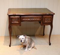 French Oak Writing Desk (8 of 8)