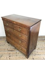 Antique 19th Century Oak & Mahogany Chest of Drawers (8 of 12)