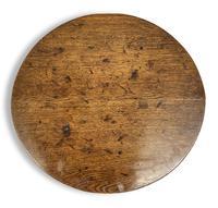 George III Oak Tilt Top Table (5 of 5)