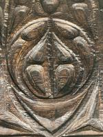 A rare 16th Century solid Oak Gothic Coffer (6 of 7)