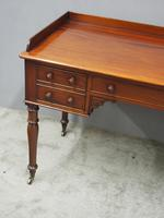 William IV Mahogany Side Table / Desk (5 of 8)