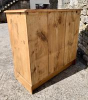 Antique Victorian Stripped Pine Chest of Drawers (15 of 15)