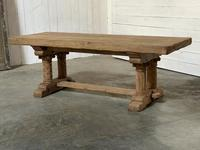 Extremely Rare Large Oak Refectory Table (5 of 35)