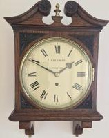 Stunning English Fusee Carved Timepiece (4 of 9)