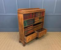 Oak Open Bookcase c.1920 (10 of 12)