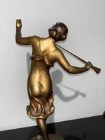 Art Deco spelter figure (3 of 8)