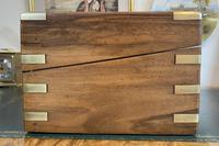 Victorian Brass-bound Walnut Writing Slope with Secret Drawers (3 of 39)