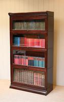 Mahogany Four Tier Stacking Bookcase (9 of 10)