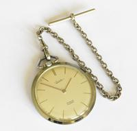 1960s Everite Pocket Watch with Chain (2 of 4)