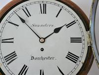 """Superb 12"""" English Fusee Dial Timepiece by Thomas Saunders 1835 (2 of 8)"""