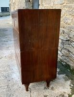 Antique Military Campaign Teak Chest of Drawers (8 of 21)