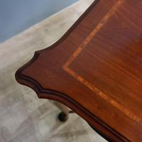 Edwardian Mahogany Occasional Table (3 of 7)