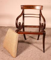 Regency Rosewood Chair Early 19th Century c.1811 (9 of 10)