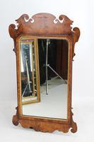 Large Antique George II Walnut Fretwork Mirror (7 of 13)