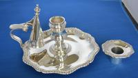 Victorian Silver Chamberstick (2 of 8)