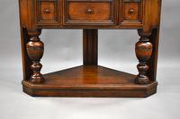 Oak Corner Cupboard by Liberty & Co (5 of 9)
