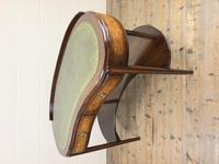 Kidney Shaped Writing Desk with Leather Top (8 of 9)