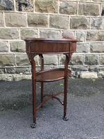 Antique Mahogany Bijouterie Display Table (6 of 9)