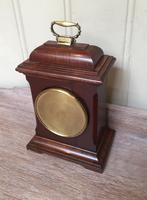 Small Mahogany 18th Century Style Bracket Clock (9 of 11)