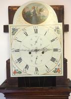 Fine English Longcase Clock Prince Hunslett 8-day Striking Grandfather Clock Solid Mahogany & Oak Case (13 of 14)