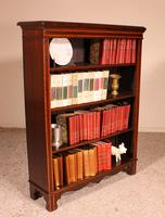Open Bookcase in Mahogany and Inlays (3 of 13)