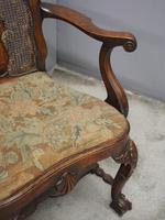 Pair of Queen Anne Style Walnut Armchairs (12 of 17)