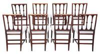 Set of 8 Georgian Mahogany Dining Chairs 19th Century C1820 (2 of 7)