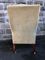 Antique Mahogany Library Armchair (7 of 10)