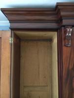 Victorian Mahogany Mirrored Triple Wardrobe (3 of 12)
