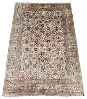 Vintage Anatolian Kayseri Silk Rug 2.22m x 1.51m (2 of 17)