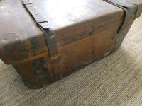 English Leather Steamer Trunk (6 of 12)