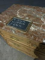 French 18th Century Marble Top Commode Chest (22 of 23)