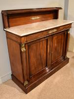 19th Centruy Marble Top Mahogany Chiffonier Sideboard (8 of 8)