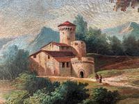 Substantial! Original Italian Landscape Oil by Follower of 17th Century Gaspard Dughet (4 of 15)