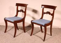 Two Regency Mahogany Chairs Circa 1800 (2 of 8)