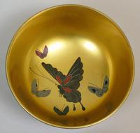 Beautiful Set of Three Japanese Lacquer Bowls (5 of 9)