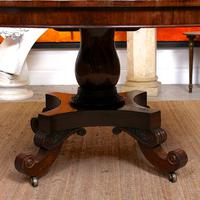 William IV Rosewood Breakfast Table Tilt Top Centre Dining Table (8 of 12)