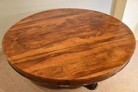 19th Century Rosewood Breakfast Table with Hairy Paw Feet (7 of 9)