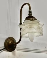 Victorian Wall Light with Flower Shade (5 of 8)
