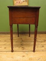 Slightly Wonky Antique Writing Table with Drawers (12 of 19)