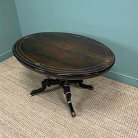 Stunning Victorian Oval Antique Dining Table (3 of 9)