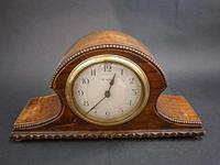 French Wooden Mantel Clock (2 of 5)