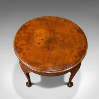 Antique Sofa Table, English, Walnut, Circular, Centre, Side, Edwardian, C.1910 (7 of 12)