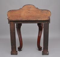 19th Century Mahogany & Marble Top Console Table (6 of 12)