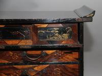 19th Century Japanese parquetry and lacquered cabinet (3 of 11)