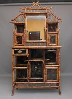 Impressive 19th Century Bamboo Cabinet (16 of 25)